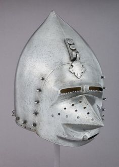 Bascinet   German   The Met Uncertain whether or not this is an original
