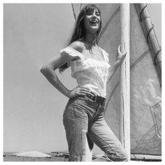 Ryder muse: Jane Birkin #Denim #style #janebirkin #inspiration