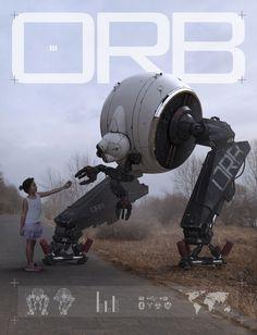 ArtStation - Nuthin' But Mech 3, by Matt TkoczMore robots here.
