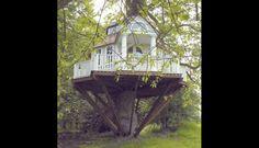 Pinterest: diez casitas en el árbol que todo niño anhelaría tener