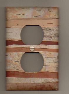 This will be happening in my living room. Birch Bark Decor, Birch Bark Baskets, Birch Bark Crafts, Tree Crafts, Wood Crafts, Birch Branches, Nature Crafts, My Living Room, Rustic Decor