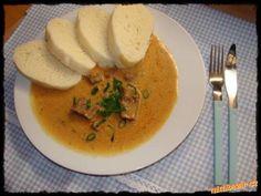 KARLOVARSKÝ,HOVĚZÍ GULÁŠ Czech Recipes, Russian Recipes, Ethnic Recipes, Czech Food, Goulash, Stew, Curry, Bohemian, Cooking