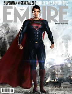 New #ManOfSteel photos and magazine covers. #Superman