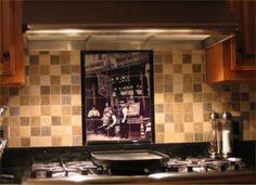 Tile Backsplash Kitchen Kuehn Residence South Jordan Utah Lane Myers  Construction Custom Home Builder Draper Utah | Kitchen Backsplash Ideas |  Pinterest ...