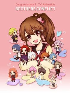 Brothers Conflict! So kawaii! Can't wait for season 2 !