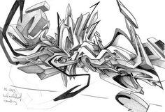 cool art sketches daim