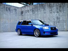 Big time azz whooping WRX STi prepped Subaru Forester, YES PLEASE!
