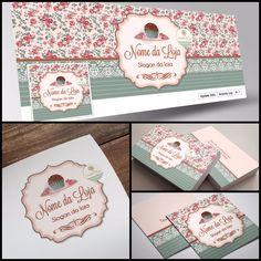 Criação de logotipo e identidade visual para brigadeiria gourmet. Veja mais em: www.ateliefloradg.com.br