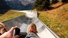 Rodelbahn Oeschinensee (Kandersteg) - Bobsled POV
