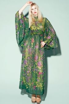 Shop Vintage | 70s Robert David Morton Maxi Dress | Thrifted ...