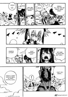 Fairy Tail 476 - And love is way stronger than anything magic can offer :)