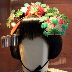 Geisha hair ornament homemade