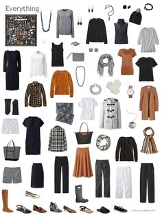 2.+capsule+wardrobe+in+black%2C+grey%2C+white+and+rust.JPG 720×960 pixels