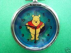 BRAND NEW Disney Winnie The Pooh Pocket Watch Clip