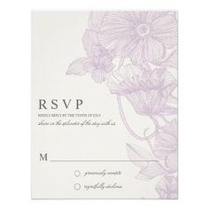 VINTAGE GARDEN | R S V P INVITES