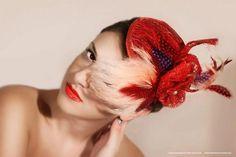 hats fashion photography by Zooey Zoe Valve, via Behance