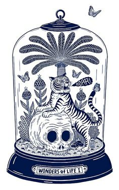 T-shirt illustration by pearpicker., via Flickr