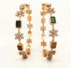 Bracelets for Women – Fine Sea Glass Jewelry Gold Jewelry Simple, White Gold Jewelry, Emerald Jewelry, Gold Bangles Design, Gold Jewellery Design, Handmade Jewellery, Indian Jewelry Sets, Schmuck Design, Silver Bracelets
