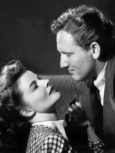 Katherine Hepburn & Spencer Tracy--the golden age of hollywood's