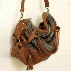 Graceful Buckles Tassels Messenger Bags Brown    $33.80