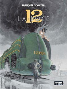 Novedades de Norma Editorial @NormaEditorial:La selección de La Línea Clara:La Doce, de François Schuiten.