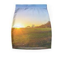 Sunset at Hanging Rock, Victoria Pencil Skirt