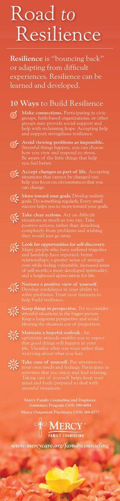 10 #tips to improve your resilience #PersoanlDevelopment #success www.socialmediamamma.com