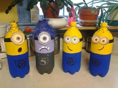 my minions I made for my sons bday party!!