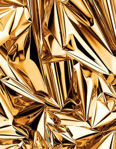 Gold Reflection // Robin Broadbent — Patternity