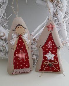 Engel+Stern+Landhaus+Weihnachten++von+Feinerlei+auf+DaWanda.com