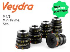 As a filmmaker who uses Micro 4/3 cameras, your lenses need to give you absolute quality and control. Enter Veydra Mini Primes.