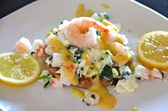 Seafood Omelet Sandwich!
