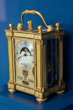 Gilt Bronze Carriage Clock with Calendar, 1811