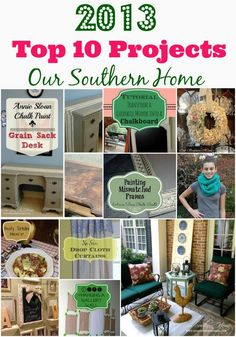 Blog post at Our Southern Home : I hope everyone had a wonderful holiday with friends and family!  We sure did! We didn't do any traveling this year which was really [..]