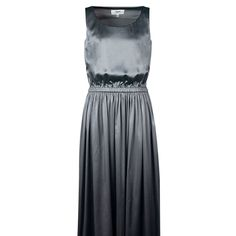 Silk Metalic Grey Dress on TROVEA.COM