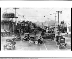Western Avenue and Beverly Boulevard, ca.1924 Los Angeles