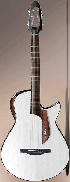 Acoustic Guitar - Le modèle électroacoustique Saie de Verdinero. Retrouvez des cours de #guitare d'un nouveau genre sur MyMusicTeacher.fr