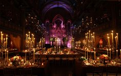 formal dinner - very pretty