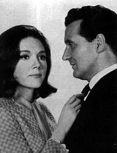 """Diana Rigg turned me on so madly that I had to channel my thoughts to other things … Her flashing eyes and the total physicality of being near her drove me to distraction."" - Patrick Macnee (The Avengers and Me, 142)."