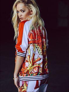 Rita Ora For Adidas collection printemps-été 2015