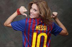 Una Miss España con el corazón azulgrana