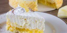 Veja como fazer esse bolo de abacaxi com creme delicioso