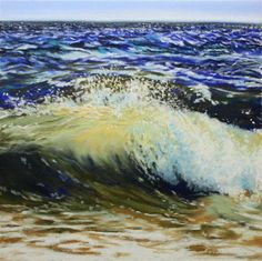 """Sconset Surf"" - Original Fine Art for Sale - © Jill Bates"