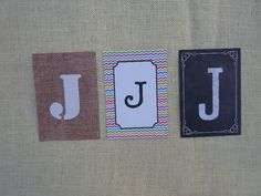 Mix and Pick Letters A-Z  $2.50 each
