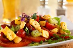 This cheese curd caprese salad is a fresh twist on a summer classic. It's a quick and easy summer salad recipe. Caprese Salad Recipe, Cucumber Salad, Egg Salad, Easy Summer Salads, Summer Salad Recipes, Wisconsin Cheese, Cheese Curds, Cheese Lover, Recipe Using