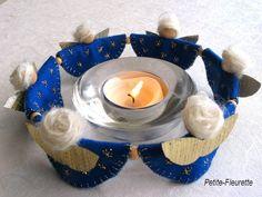 Weihnachtsdeko - Weihnachtlicher Teelichtreigen Engelsreigen - ein Designerstück von Petite-Fleurette bei DaWanda