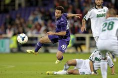 Giuseppe Rossi of ACF Fiorentina in action during the Serie A match between ACF Fiorentina and US Sassuolo Calcio at Stadio Artemio Franchi ...