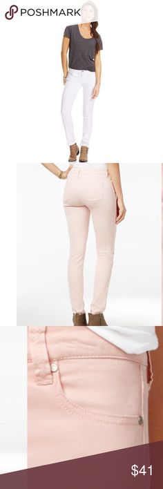 """White CP jeans Waist 36"""".  Length 51"""".  68% cotton, 30 polyester, 2% spandex  Never been worn. Celebrity Pink Jeans Skinny"""