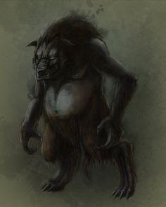 Sumpurnis - These massive, werewolf-like creatures do not transform backwards and forwards from human form, and so are in their beast form at all times. They come from Latvian mythology, and will hunt down prey in packs, but can be killed by decapitation.