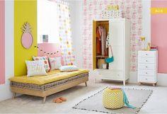 Girls' bedrooms - furniture & decor ideas   Maisons du Monde